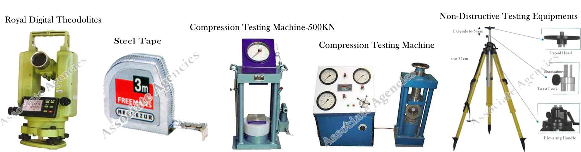 Compressive Test Machine In Gujarat ,  Automatic Level In Gujarat, Coating Thickness Gauge In Gujarat, Bursting Strength Tester In Gujarat, Surveying Instruments In Gujarat